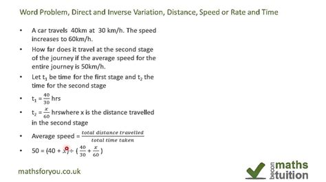 class 8 maths worksheets direct and inverse proportion