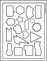 Shape Coloring Geometric Pages Designs Multi Printable Print Triangle Circles Shapes Banner Pdf Colorwithfuzzy Triangles sketch template