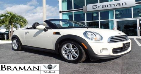 Roll The Top Down This 2016 Mini Cooper Convertible