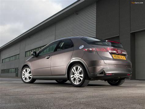 Honda Civic Hatchback UK-spec (FN) 2010–11 images (1280x960)
