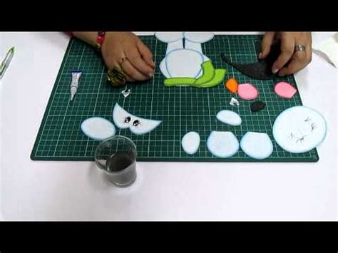 diy osito navide 241 o en fomi goma microporoso easy crafts
