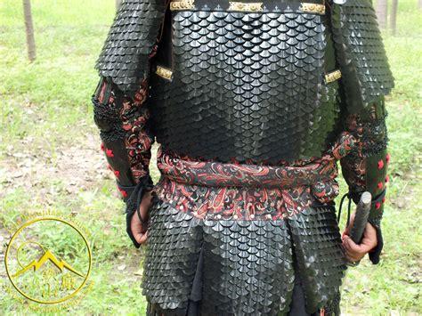 dragon scale samurai armor yoroi geishas blade