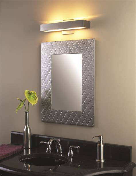 Modern Bathroom Led Lighting by Bathroom And Vanity Led Lighting Idea Contemporary