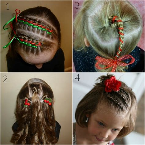 christmas hairstyles for younger girls