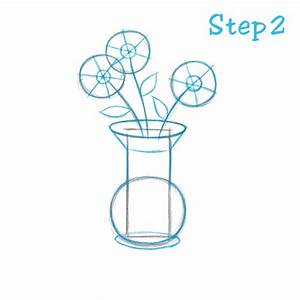 How to Draw a Flower Vase (Beginning) – sketch2draw.com