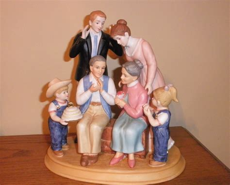 home interior denim days figurines denim days home interior family figurine in box