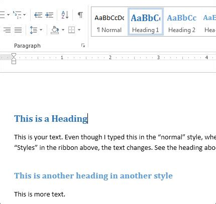 What Information Should Be Included In The Heading Of A Resume by Add A Heading Word