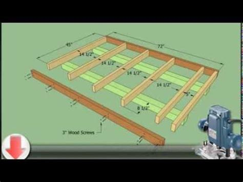 12x12 Platform Deck Plans by How To Plan For Building A 10x12 Shed