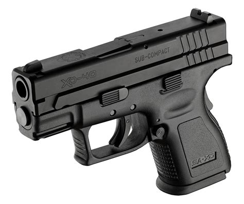 Xd® Sub Compact 40sw  Top Polymer Pistols For Men & Women