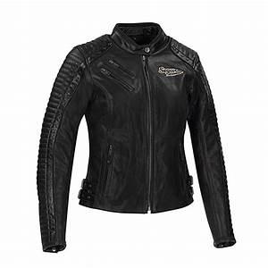 Blouson Moto Vintage Femme : blouson segura femme lady joyce veste moto cuir noir harley davidson ~ Melissatoandfro.com Idées de Décoration