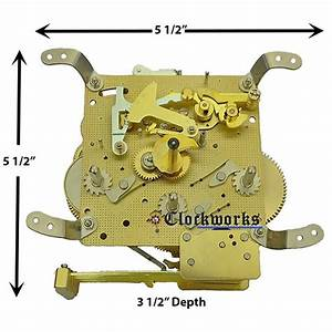 New 340-020 Clock Movement By Hermle