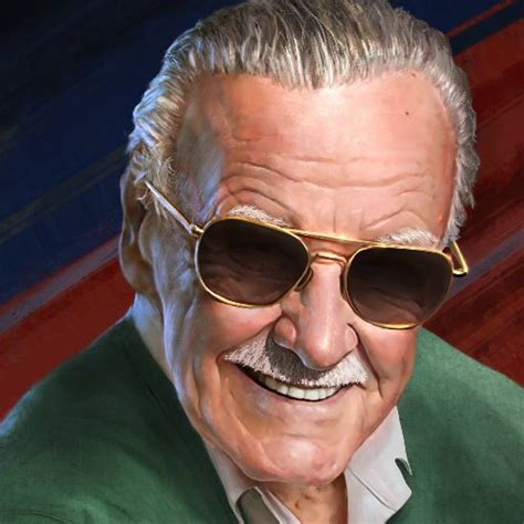 stan lee  sink hand  footprints  cement  front