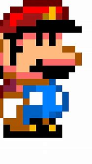 piq - Retro Mario   100x100 pixel art by GoldCrown