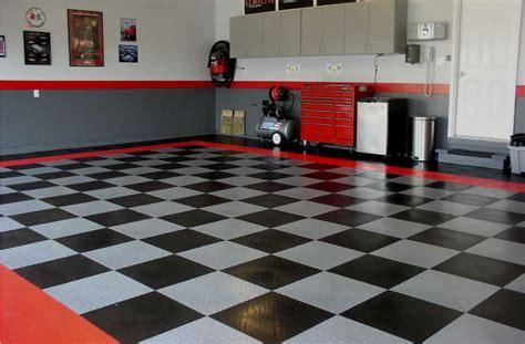 Checkerboard garage floor   Homes Floor Plans