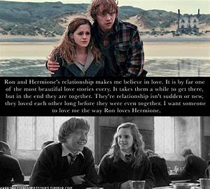 Hermione And Ron Love