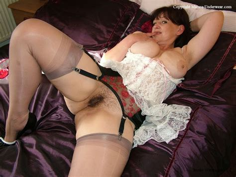 10 In Gallery Hairy Chubby Matures In Stockings