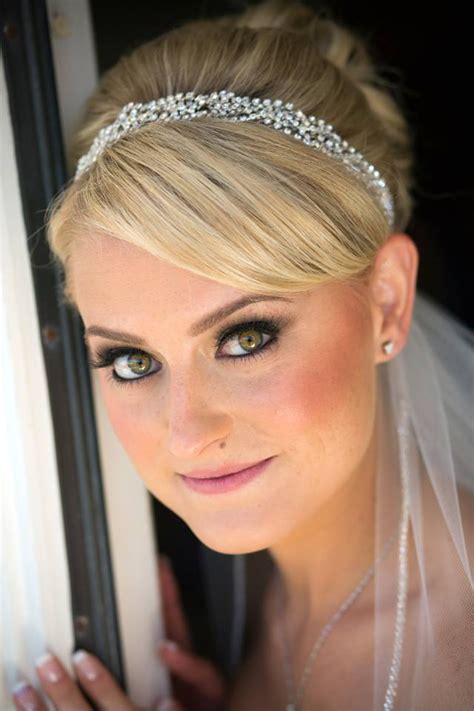 Bridal Hair And Makeup For Wedding At Moorpark Country