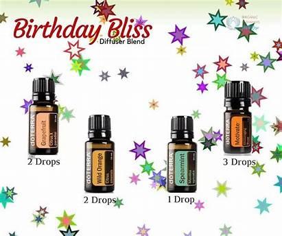 Doterra Birthday Diffuser Blend Oil Essential Blends