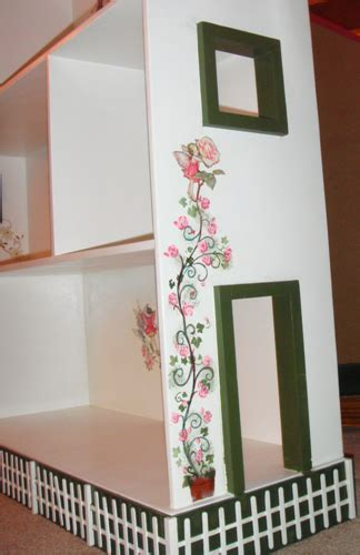 ana white fairy dollhouse bookshelf diy projects