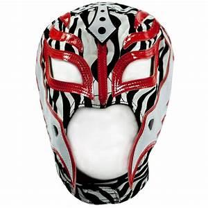 Rey Mysterio Zebra Replica Mask - WWE | WWEShop | Pinterest