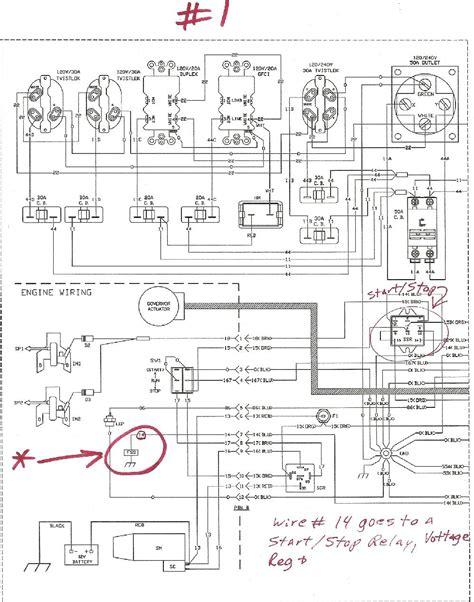 wiring diagram generac generator wiring diagram generac
