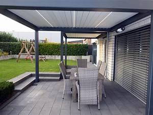 Terrassen Sonnenschutz Elektrisch : pergola mit verstellbaren lamellen pergola mit verstellbaren lamellen lamellen sichtschutz ~ Sanjose-hotels-ca.com Haus und Dekorationen