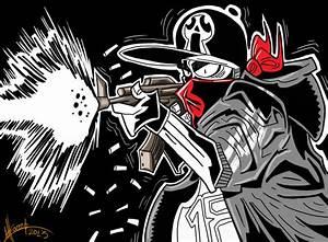Gangsta by SuperManosBros on DeviantArt