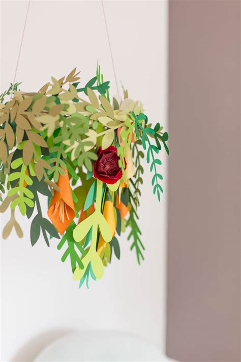 Diy Lenschirm Papier by Diy Paper Floral Mobile With Hobbycraft Fall For Diy