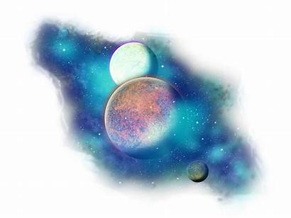 Transparent Space Galaxy Planets Clipart Planet Clip