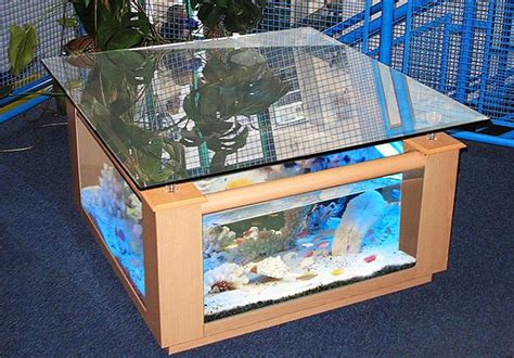 fish tank coffee table design images  pictures