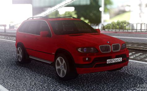 bmw  red  gta san andreas