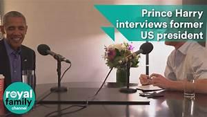 When Harry met Barack: Prince interviews former US ...