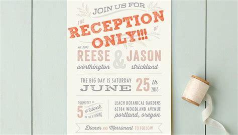 post elopement reception wording  invitations