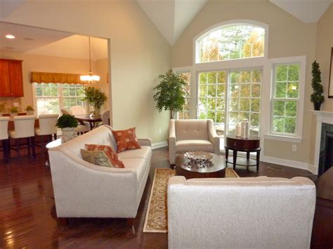 model home living room model home living room living room transitional and mid