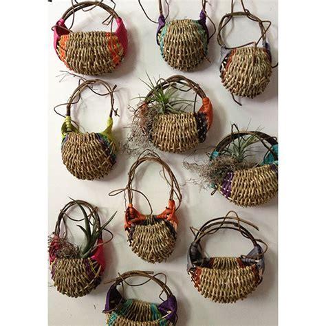 Hand woven decorative wall baskets from zimbabwe. Petit Wall Basket - Designer Baskets