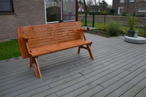 Build Your Own Convertible Picnic Table Bench! Diy