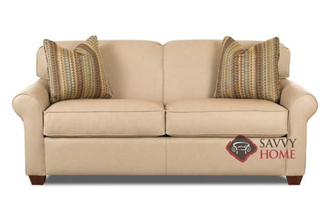 Calgary Leather Sleeper Sofas Full By Savvy Is Fully