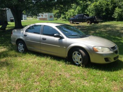 Find Used 2004 Dodge Stratus Se Sedan 4-door 2.7l In