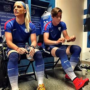 Julie Johnston and Abby Wambach. (Instagram) | Alex Morgan