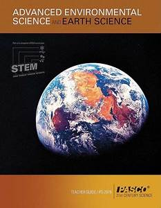 Advanced Environmental And Earth Sciences Teacher Guide
