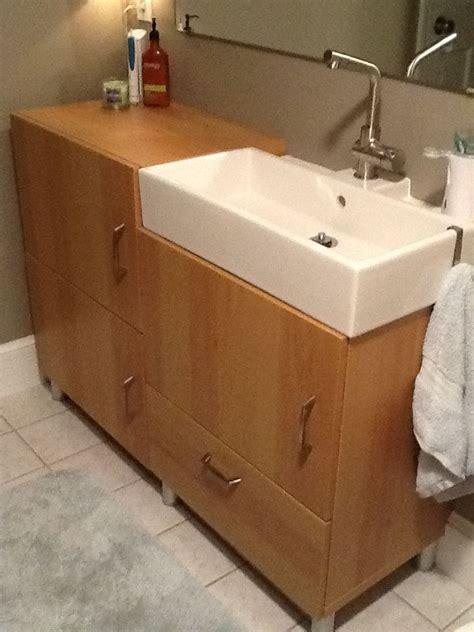 IKEA Bathroom Vanities and Sinks   Materials: Lillangen