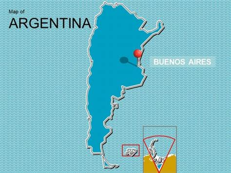 map  argentina powerpoint