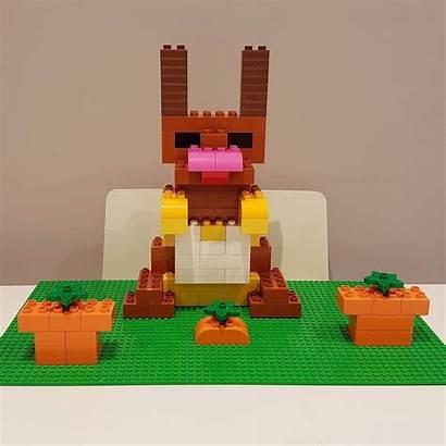 Duplo Lego Hase Brickaddict Bauideen Selber Bauen