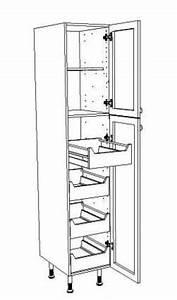 Colonne Cuisine 40 Cm : meuble de cuisine largeur 40 cm mobilier design d coration d 39 int rieur ~ Teatrodelosmanantiales.com Idées de Décoration