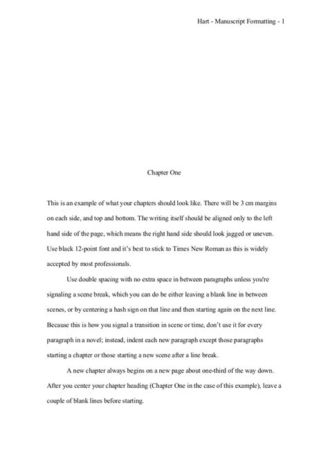 manuscript template how to format a novel manuscript writing academy scribophile