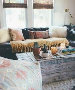 Table Basse Boheme : 1001 id es et tutos pour fabriquer un meuble en cagette charmant ~ Teatrodelosmanantiales.com Idées de Décoration