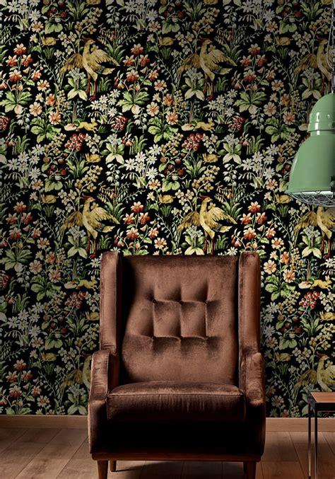 floral tapestry wallpaper  mind  gap