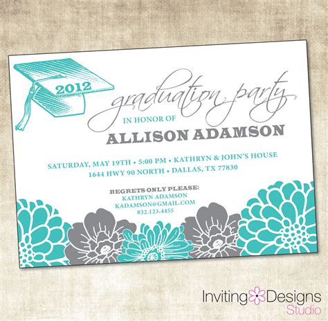 wedding registry in invitation graduation party invitation theruntime