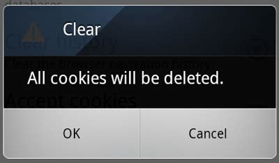 clear cookies android born to how to clear the cache and cookies from