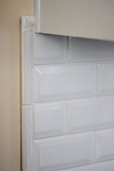 4x12 Subway Tile Bullnose by Tiling Backsplash Beveled Subway Tile Two Delighted